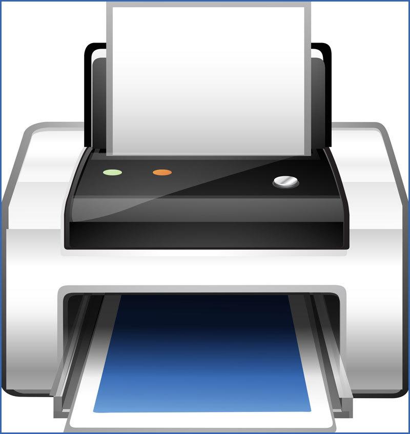 Small Footprint Color Laser Printer